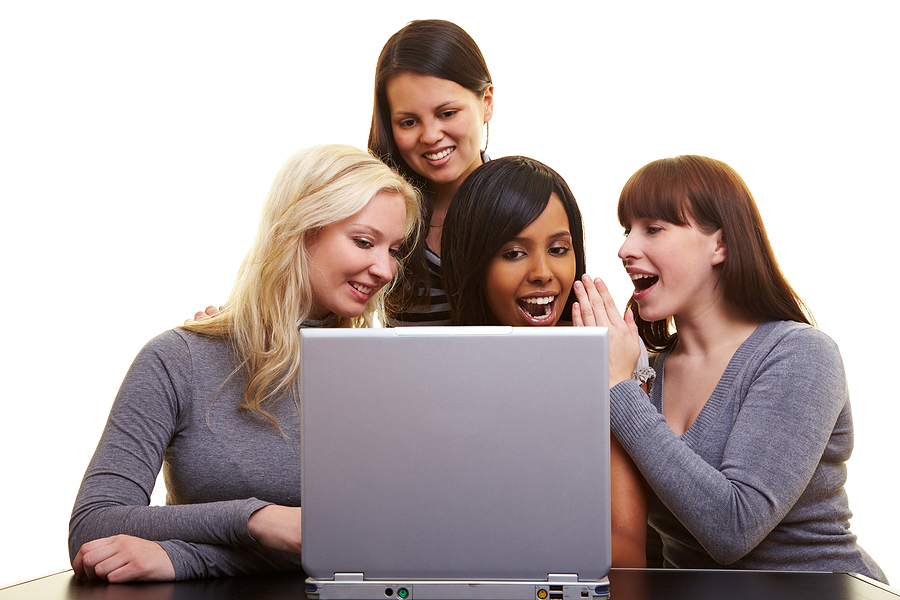 bigstock_Women_Chatting_With_A_Laptop_8017469