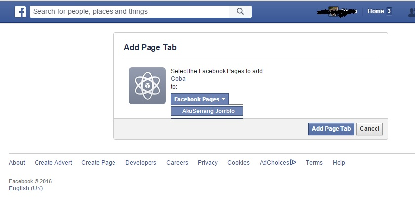 how to add the review tab on facebook fan page
