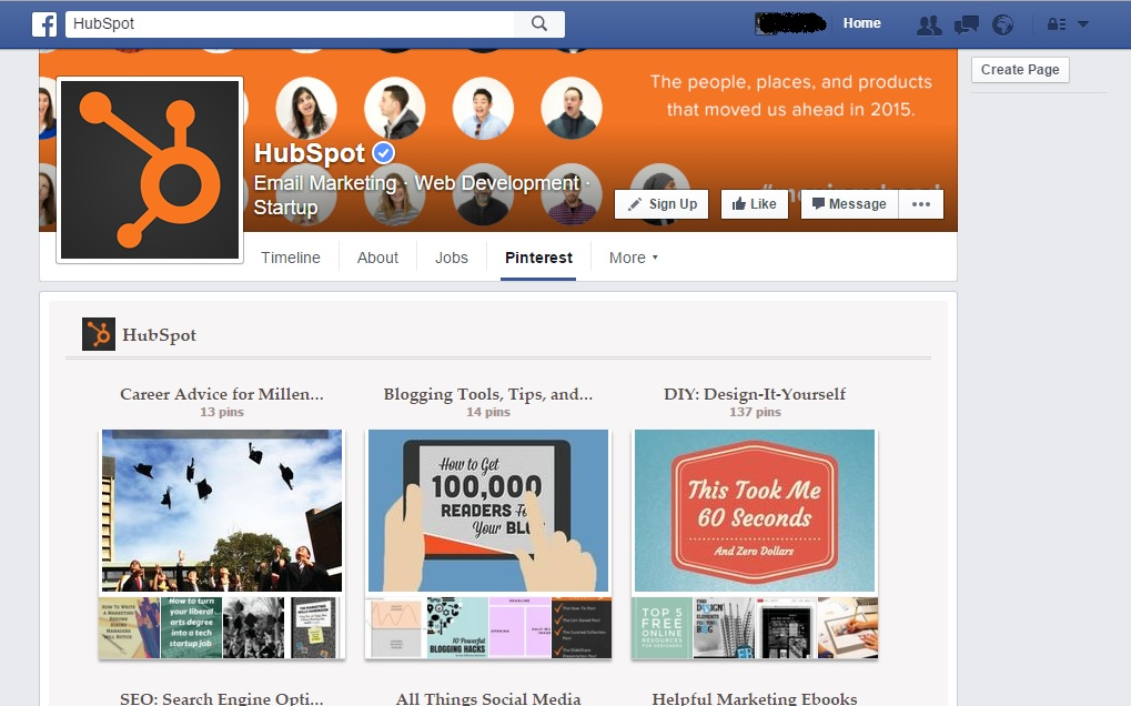 facebook-fanpage-hubspot