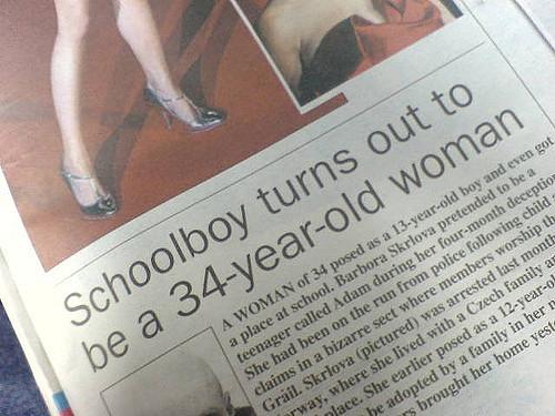 Contoh Headline yang Menarik. (Photo Credit: RJP)